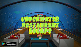 Knf Underwater Restaurant Escapeのゲーム画面「Knf Underwater Restaurant Escape」