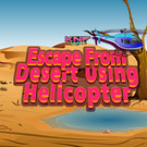 Escape From desert using helicopter