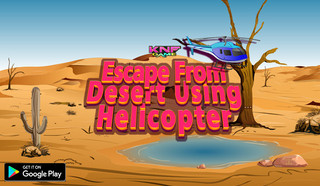 Escape From desert using helicopterのゲーム画面「Escape From desert using helicopter」