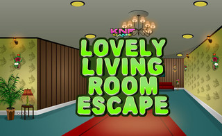 Knf lovely living Room Escapeのゲーム画面「Knf lovely living Room Escape」
