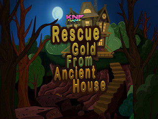 Knf Rescue Gold From Ancient Houseのゲーム画面「Knf Rescue Gold From Ancient House」