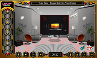 Knf Grey Room Escapeのゲーム画面「Knf Grey Room Escape」