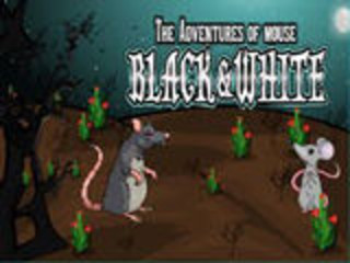 Adventures Of Mouse Black and Whiteのゲーム画面「Adventures Of Mouse Black and White」