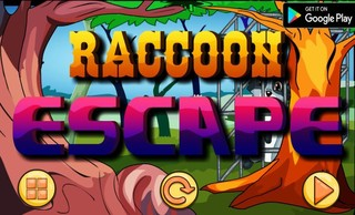 NSR Raccoon Escapeのゲーム画面「NSR Raccoon Escape」