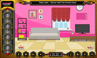 Knf Pink Room Escape 2のゲーム画面「Knf Pink Room Escape 2」