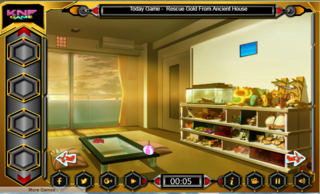 Knf Chalet Bungalow Escapeのゲーム画面「Knf Chalet Bungalow Escape」