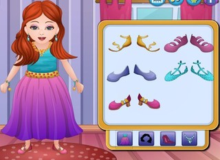 Sena Birthday Dress Upのゲーム画面「Sena Birthday Dress Up」