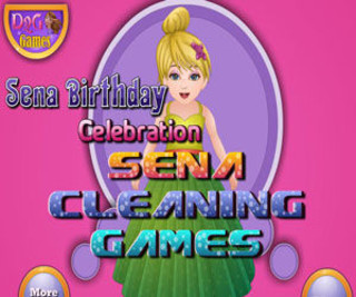 Sena Birthday Cleaningのゲーム画面「Sena Birthday Cleaning」