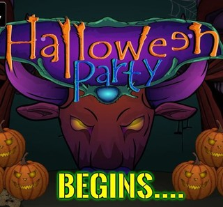 Halloween Party Beginsのゲーム画面「Halloween Party Begins」