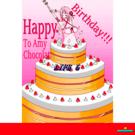 アミィの誕生日に作ったゲームです!ボールをうまく跳ね返してケーキを食べよう!