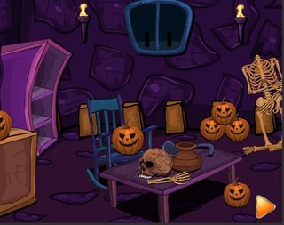 Halloween Party 6 Egypt Caveのゲーム画面「Halloween Party 6 Egypt Cave」