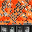 岩を上手く利用して要塞を建設せよ