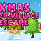 Xmas Snow Village Escape