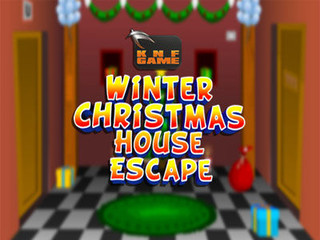 Knf Winter Christmas House Escapeのゲーム画面「Knf Winter Christmas House Escape」
