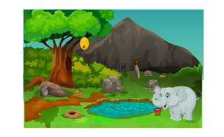 Knf Forest Hog Rescueのゲーム画面「Knf Forest Hog Rescue」