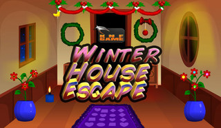 Knf New Winter House Escapeのゲーム画面「Knf New Winter House Escape」