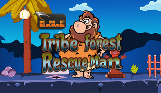 Knf Tribe Forest Man Rescueのゲーム画面「Knf Tribe Forest Man Rescue」