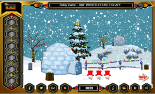 Knf Little Penguin Escapeのゲーム画面「Knf Little Penguin Escape」