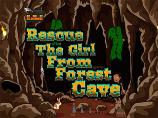 Knf Rescue The Girl From Forest Caveのゲーム画面「Knf Rescue The Girl From Forest Cave」