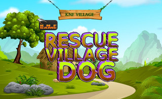 KNF Village Rescue Dogのゲーム画面「KNF Village Rescue Dog」