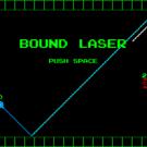 反射するレーザーでバグを潰すゲームです