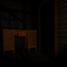 屋敷の中は暗く、何が出てきてもおかしくない