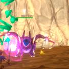 このドラゴンを倒すことが、ゲームの目的です。