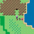洞窟・塔などを発見したら、進んでみましょう。