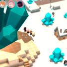 3Dマップ探索RPG