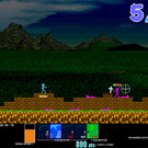 以前、ゲームオーバーになったところには十字架が建ちます