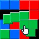 触れたブロックと繋がっている同色のブロックが集まります