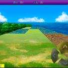 様々な地形のある3Dダンジョン形式