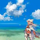 海岸で目覚めたニナ。まずは状況を把握しよう。