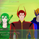 ゲーム中の画面。