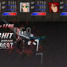 敵味方のフルアニメーションによるバトル